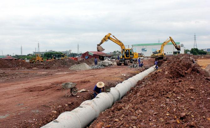 TP Bắc Giang, giải phóng nhanh, mặt bằng, dự án, trọng điểm