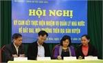 Hiệp Hòa ký cam kết về quản lý đất đai, môi trường