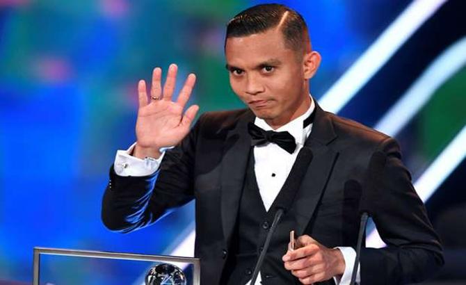 Cầu thủ, Malaysia,  thưởng lớn,  nhận giải, FIFA, Puskas