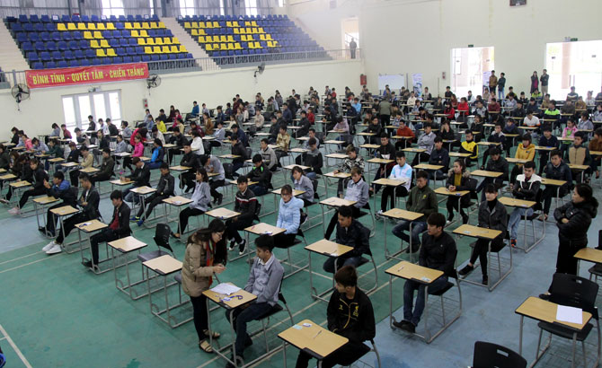 Trường Cao đẳng nghề Công nghệ Việt - Hàn, 250 sinh viên, tham gia,  Ngày hội việc làm