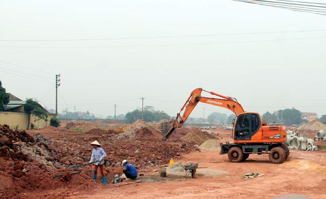 Tân Yên đầu tư đồng bộ hạ tầng đô thị