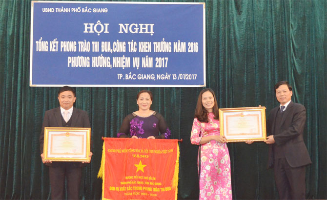 TP Bắc Giang triển khai năm thi đua vì trật tự và văn minh đô thị