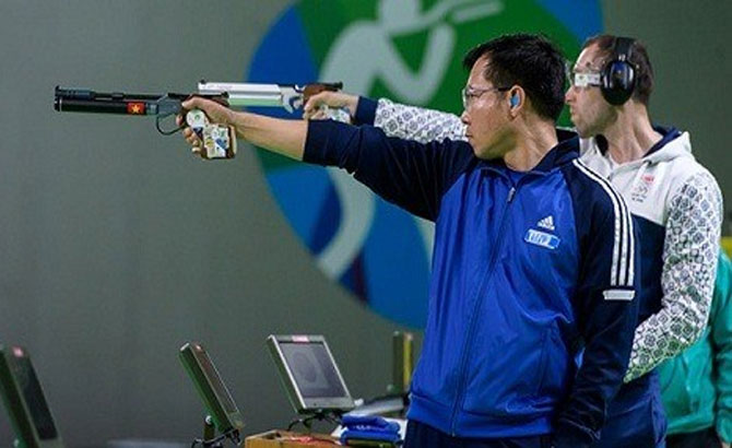 Hoang Xuan Vinh, to participate in, ISSF World Cup