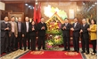 Các đồng chí lãnh đạo tỉnh Bắc Giang chúc Tết tỉnh Bắc Ninh