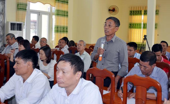 Hoạt động tiếp xúc cử tri của đại biểu HĐND: Đổi mới, thiết thực, hiệu quả