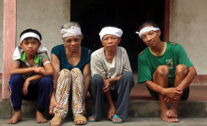 Một gia đình đặc biệt khó khăn cần được giúp đỡ