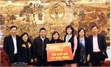 Phó Chủ tịch UBND tỉnh Nguyễn Thị Thu Hà trao 470 suất quà Tết tại Hiệp Hòa