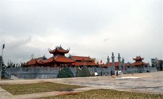 Cơ bản hoàn thành dự án xây dựng đền Xương Giang