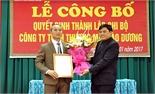 Ra mắt Chi bộ Công ty TNHH Thương mại Đào Dương