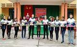 Hội thi gói bánh chưng Tết cổ truyền Trường THPT Dân lập Nguyên Hồng