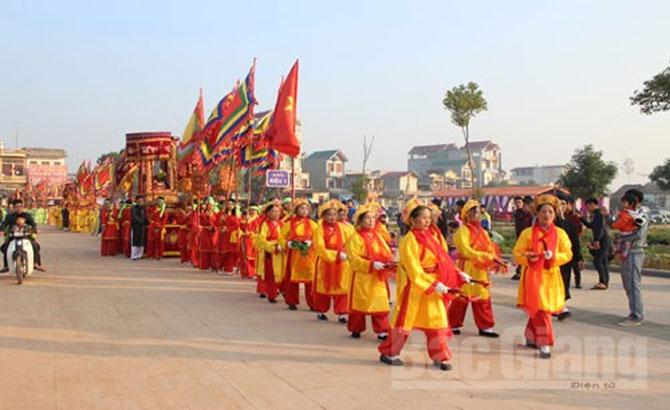 Kiểm tra công tác chuẩn bị tổ chức lễ hội Xương Giang