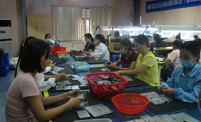 Công nghiệp, hỗ trợ, đáp ứng, 65%, nhu cầu, sản xuất, nội địa