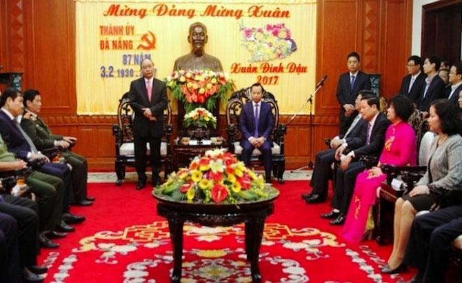 Prime Minister, pays Tet visit to, Da Nang