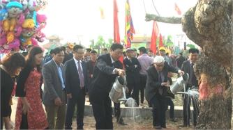 Bắc Giang: Phát động 'Tết trồng cây đời đời nhớ ơn Bác Hồ'