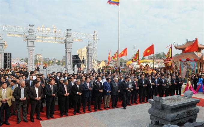 Tưng bừng Lễ hội Kỷ niệm 590 năm Chiến thắng Xương Giang