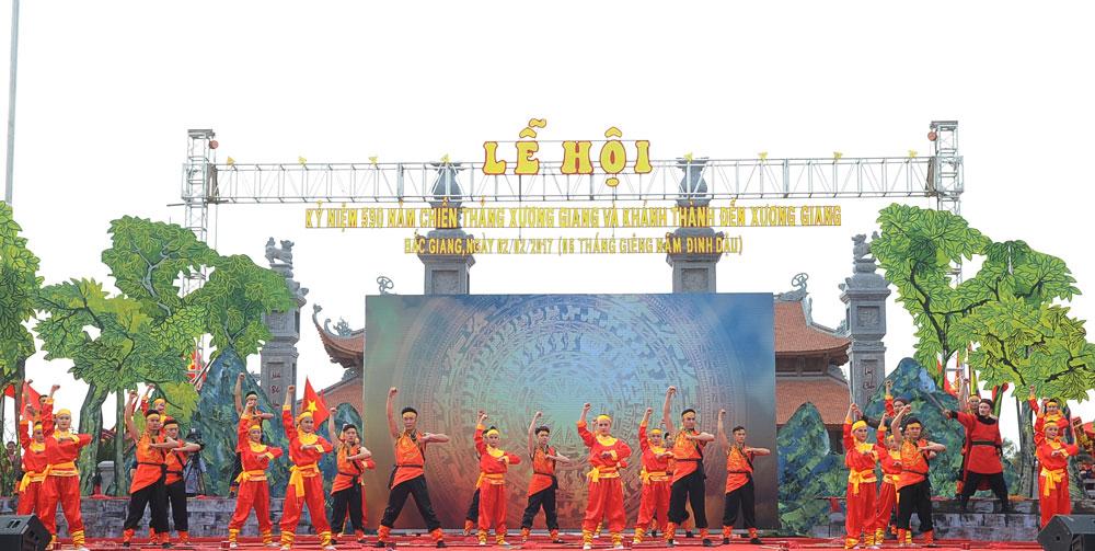 Tưng bừng, Lễ hội Kỷ niệm, 590 năm, Chiến thắng Xương Giang