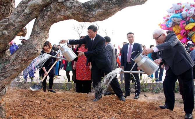 Bac Giang, Tree Planting Festival, commemoration of Uncle Ho
