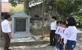 Hoàng Vân – Nơi thành lập chi bộ Đảng đầu tiên ở Hiệp Hòa