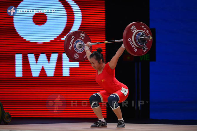 Asian weightlifting champion Vuong Thi Huyen: Homeland is my support