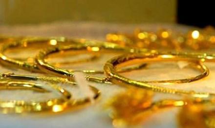 Giá vàng, bất ngờ, giảm, tỷ giá trung tâm, tăng mạnh