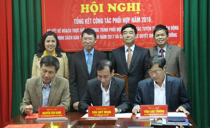 Bắc Giang, phối hợp, tuyên truyền,  công tác, dân tộc, miền núi