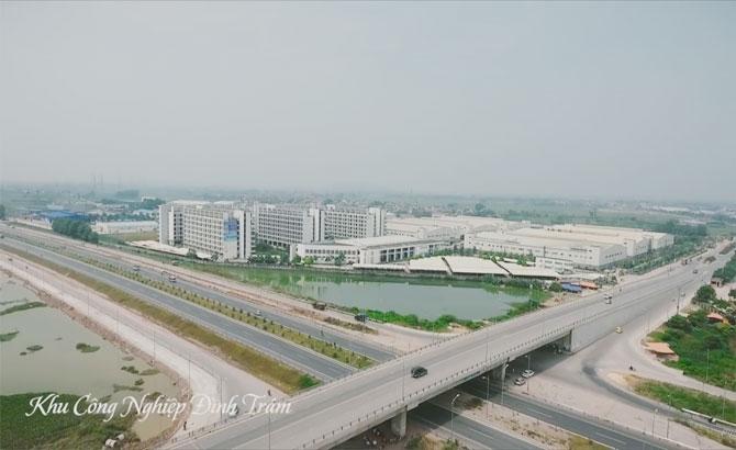 10 dự án, đầu tư,  khu công nghiệp, Bắc Giang