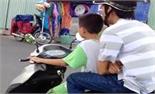 Không cho trẻ em lái xe