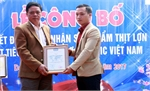 NHO-QSCert certifies pork products of Truong Thanh Livestock Cooperative