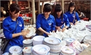 Hơn 1 nghìn thanh niên tình nguyện tại lễ hội Bổ Đà