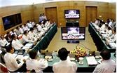 Hiệp Hòa: Đưa vào sử dụng hệ thống giao ban trực tuyến