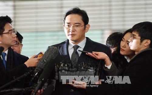 Phó Chủ tịch, Samsung, chính thức, bắt giữ