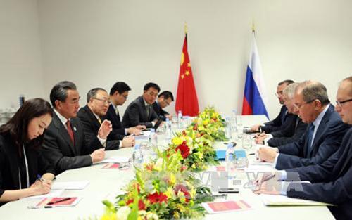 Mỹ, Trung Quốc, trao đổi, quan điểm, quan hệ, song phương