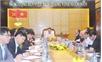 Thường trực Tỉnh ủy làm việc với BTV Thành ủy Bắc Giang