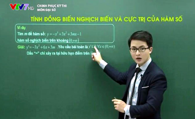 Thầy giáo, Lại Tiến Minh, hạnh phúc, đứng trên bục giảng
