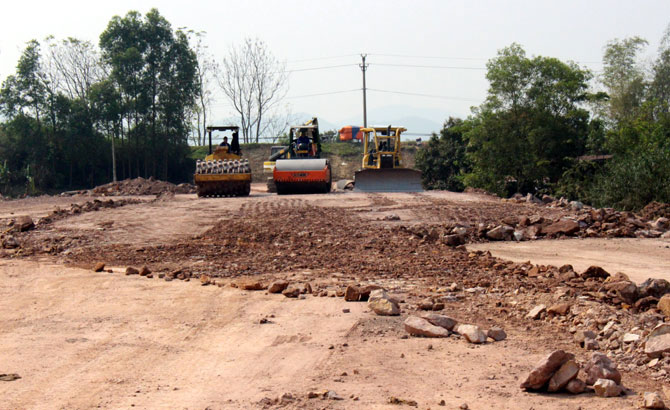 Bac Giang: Creating land fund for key projects