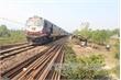Đã thông tuyến đường sắt Bắc - Nam sau vụ tai nạn giữa tàu hoả và xe ben