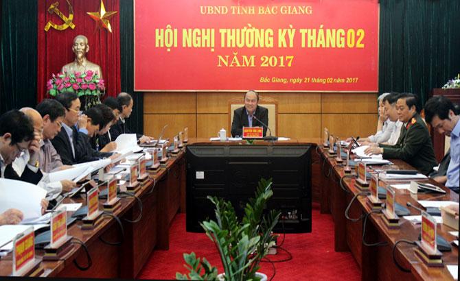 Bắc Giang: Tập trung thực hiện tốt các nhiệm vụ phát triển KT-XH trọng tâm