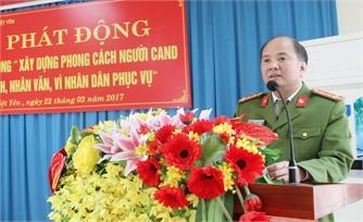 Công an Việt Yên: Phát động Cuộc vận động xây dựng phong cách người công an nhân dân