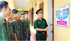 Tuyên truyền pháp luật trong quân đội: Mỗi tuần thuộc một điều luật