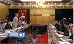 Bộ trưởng Bộ GTVT Trương Quang Nghĩa làm việc tại Bắc Giang