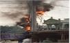 Cháy nổ điện ở làng mộc Bãi Ổi