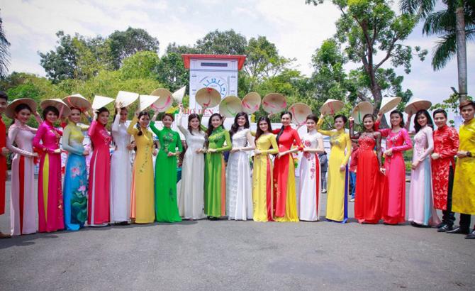 Lễ hội Áo dài năm 2017 tại TP Hồ Chí Minh