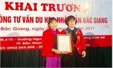 Khai trương Văn phòng Tư vấn du học Việt Trí MD tại Bắc Giang