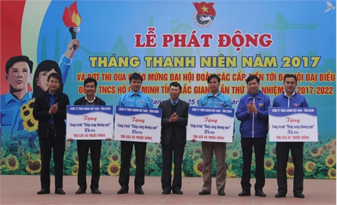 Bắc Giang: Phát động Tháng Thanh niên năm 2017