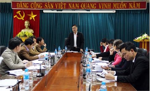 Đoàn ĐBQH tỉnh Bắc Giang giám sát công tác cải cách tổ chức bộ máy tại Sở Nội vụ