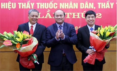 """Bắc Giang: 19 cán bộ y tế được phong tặng danh hiệu """"Thầy thuốc Nhân dân"""", """"Thầy thuốc Ưu tú"""""""