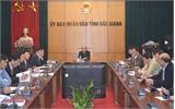 Chủ tịch UBND tỉnh Nguyễn Văn Linh: Định kỳ đánh giá kết quả thực hiện nhiệm vụ của người đứng đầu
