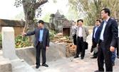 Kiểm tra công tác chuẩn bị cho Lễ đón Bằng xếp hạng Di tích quốc gia đặc biệt chùa Bổ Đà