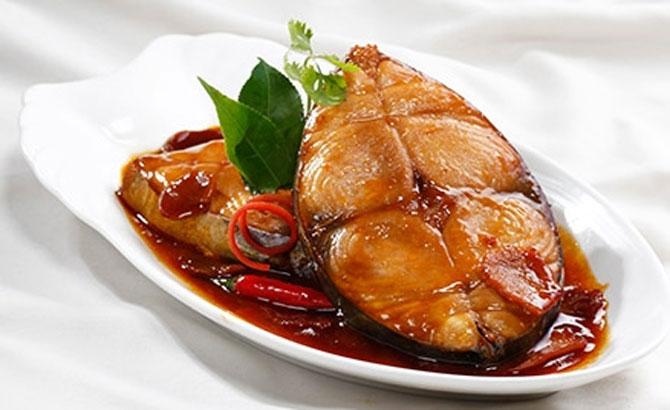 Vietnamese 'Ca Kho' simmered fish