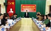 Bí thư Thành ủy Nguyễn Sỹ Nhận làm việc với Đảng ủy phường Mỹ Độ